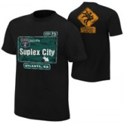 "Brock Lesnar ""Suplex City: Atlanta"" Authentic T-Shirt"