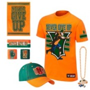 "John Cena ""15X"" Youth Deluxe Authentic T-Shirt Package"