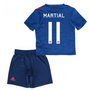 Manchester United Cup Away Mini Kit 2016-17 with Martial 11 printing