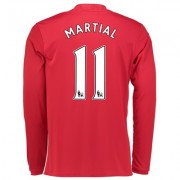 Manchester United Home Shirt 2016-17 - Long Sleeve with Martial 11 pri