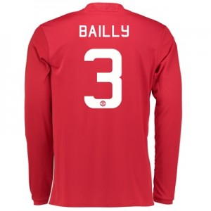 Manchester United Cup Home Shirt 2016-17 - Long Sleeve with Bailly 3 p
