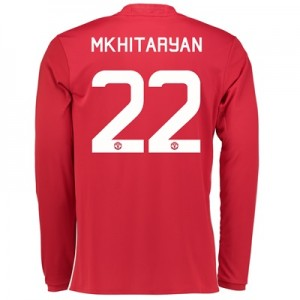 Manchester United Cup Home Shirt 2016-17 - Long Sleeve with Mkhitaryan
