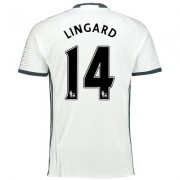 Manchester United Third Shirt 2016-17 with Lingard 14 printing