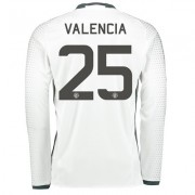Manchester United Cup Third Shirt 2016-17 - Long Sleeve with Valencia
