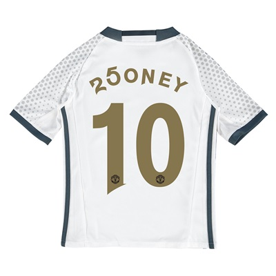 Manchester United Third Shirt 2016-17 - Kids with 250ney 10 printing