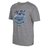 2016 NHL Winter Classic Event Logo Tri-Blend T-Shirt (Dark Gray Heathered) All items