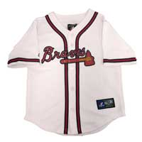 Atlanta Braves Majestic Child Home Replica Baseball Jersey All items