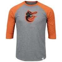Baltimore Orioles Cooperstown Two To One Margin 3/4 Raglan T-Shirt All items