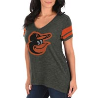 Baltimore Orioles Women's Check The Tape V-Neck T-Shirt All items
