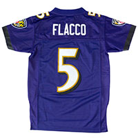 Baltimore Ravens Joe Flacco NFL Team Apparel Youth Limited Replica Football All items