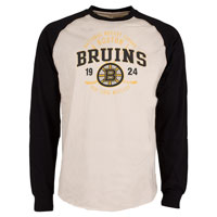 Boston Bruins Twigs Raglan Long Sleeve Jersey T-Shirt All items