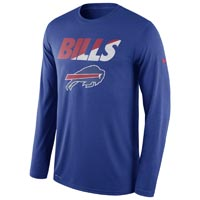 Buffalo Bills NFL Legend Staff Practice Dri-FIT Long Sleeve T-Shirt All items