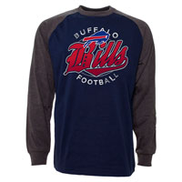 Buffalo Bills Rounder Raglan Long Sleeve Jersey T-Shirt All items