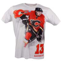 Calagary Flames Johnny Gaudreau YOUTH FX Highlight Reel Kewl-Dry T-Shirt All items