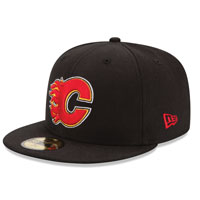Calgary Flames 59FIFTY Basic Logo Fitted Cap (Black) All items