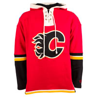 Calgary Flames Heavyweight Jersey Lacer Hoodie All items