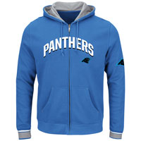 Carolina Panthers Anchor Point Full Zip NFL Hoodie All items