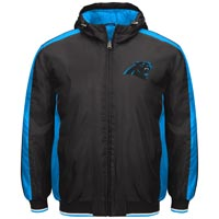 Carolina Panthers Poly Filled Parka Full Zip Jacket All items