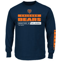 Chicago Bears 2016 Primary Receiver Long Sleeve NFL T-Shirt All items