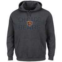 Chicago Bears NFL Kick Return Hoodie (Charcoal) All items