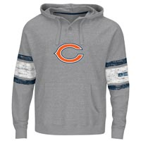 Chicago Bears Winning Method NFL Hoodie (Gray Gnarly) All items