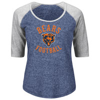 Chicago Bears Women's Act Like A Champion NFL T-Shirt All items
