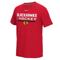 Chicago Blackhawks Authentic Center Ice Locker Room Supremium T-Shirt (Heather All items