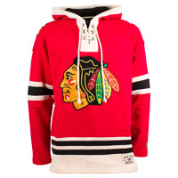 Chicago Blackhawks Heavyweight Jersey Lacer Hoodie All items