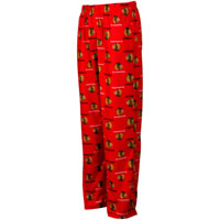 Chicago Blackhawks Youth Flannel Sleeper Pants All items