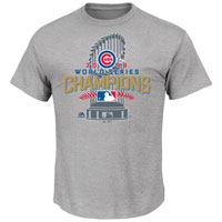 Chicago Cubs MLB Official 2016 World Series Champions Locker Room T-Shirt All items