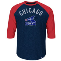 Chicago White Sox Cooperstown Don't Judge 3/4 Raglan T-Shirt All items