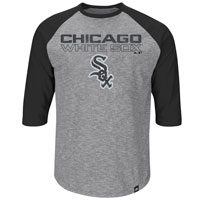 Chicago White Sox Fast Win 3 Quarter Sleeve T-Shirt All items
