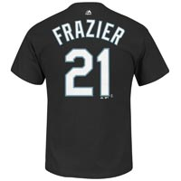 Chicago White Sox Todd Frazier MLB Player Name & Number T-Shirt (Black) All items