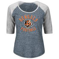 Cincinnati Bengals Women's Act Like A Champion NFL T-Shirt All items