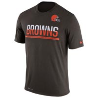 Cleveland Browns NFL Nike Team Practice Light Speed Dri-FIT T-Shirt All items