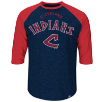 Cleveland Indians Cooperstown Don't Judge 3/4 Raglan T-Shirt All items