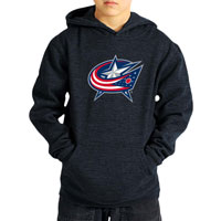 Columbus Blue Jackets YOUTH Suede Logo Hoodie All items