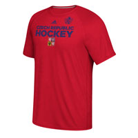 Czech Republic Hockey World Cup Of Hockey Team Font Go To T-Shirt (Red) All items