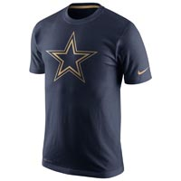 Dallas Cowboys NFL Champ Dri-FIT Gold Collection T-Shirt All items