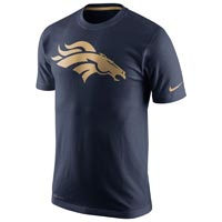 Denver Broncos NFL Champ Dri-FIT Gold Collection T-Shirt All items