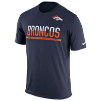 Denver Broncos NFL Nike Team Practice Light Speed Dri-FIT T-Shirt All items