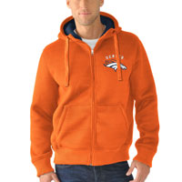 Denver Broncos NFL Sherpa Full Zip Hooded Jacket All items
