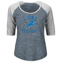 Detroit Lions Women's Act Like A Champion NFL T-Shirt All items