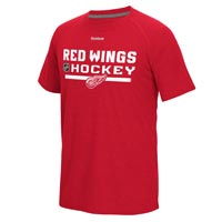 Detroit Red Wings Authentic Center Ice Locker Room Supremium T-Shirt (Heather All items