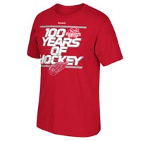 Detroit Red Wings Reebok 2017 Centennial Classic Localized T-Shirt All items