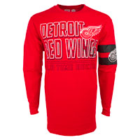 Detroit Red Wings YOUTH Bandit Long Sleeve T-Shirt All items