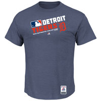 Detroit Tigers Authentic Collection Team Choice Heathered T-Shirt All items