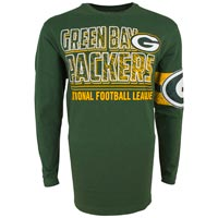 Green Bay Packers NFL Youth Bandit Long Sleeve T-Shirt All items