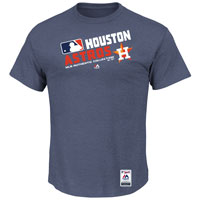Houston Astros Authentic Collection Team Choice Heathered T-Shirt All items