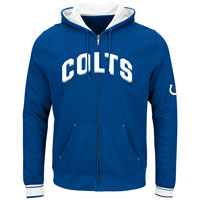 Indianapolis Colts Anchor Point Full Zip NFL Hoodie All items